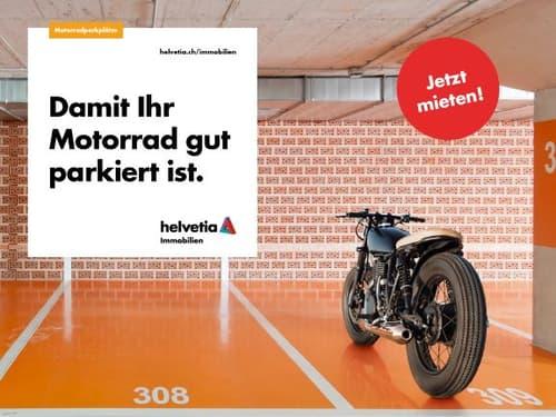 Hier ist Ihr Motorrad sicher und geschützt!