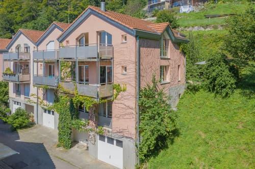 6.5-Zimmer-Eck-Einfamilienhaus mit Garage und Blick auf den Bielersee