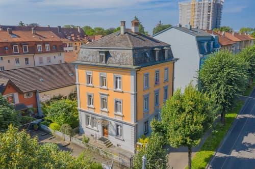 Mehrfamilienhaus mit vier Wohnungen an der Dufourstrasse