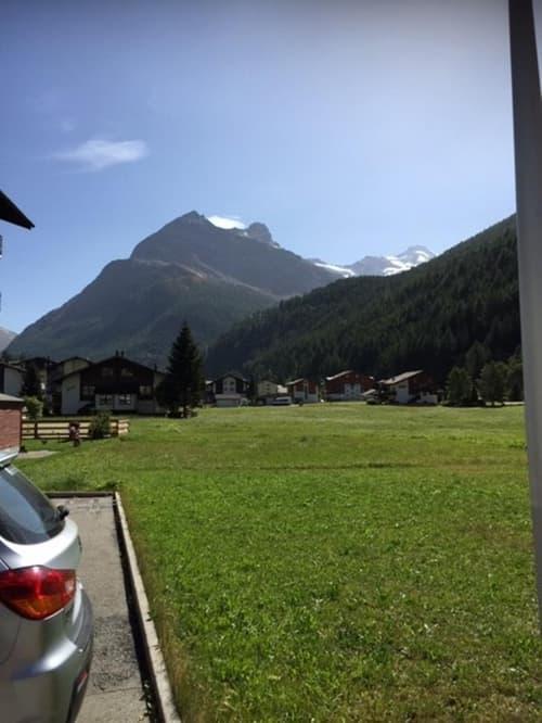 Vorzügliches erschlossenes Bauland inmitten der Walliser Bergwelt in Saas-Grund