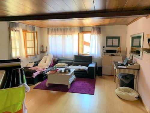 Renovierte 4.5-Zimmerwohnung im Musikdorf Ernen im Goms
