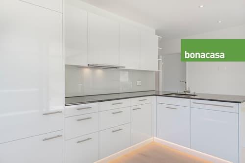 Helle 4.5-Zimmer-Wohnung im Grünen mit Aussicht auf Biel und Jura