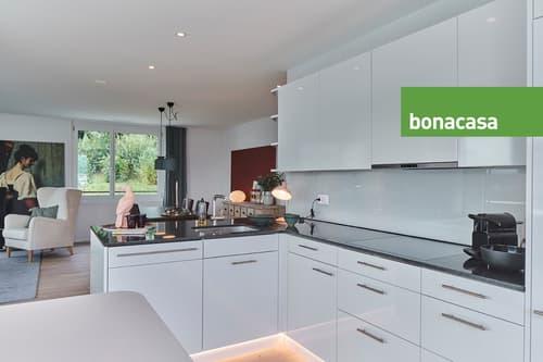 Helle 3.5-Zimmer-Wohnung im Grünen mit Aussicht auf Biel und Jura