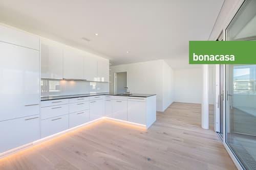 Sonnige 4.5-Zimmer-Eigentumswohnung an erhöhter Lage im Grünen - smart und nachhalig wohnen