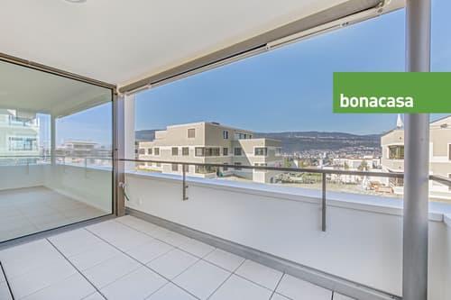 Helle Wohnung mit idealem ÖV-Anschluss in Port   Appartement lumineux et connecté aux transports publics à Port