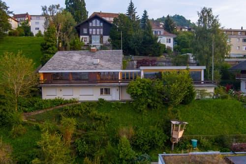 Bergstrasse 23/23a, Spiegel b. Bern, Villa mit Hallenbad