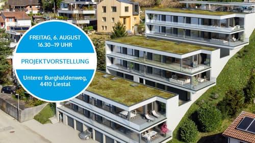 4½-Zimmer Eigentumswohnungen mit grosser Terrasse