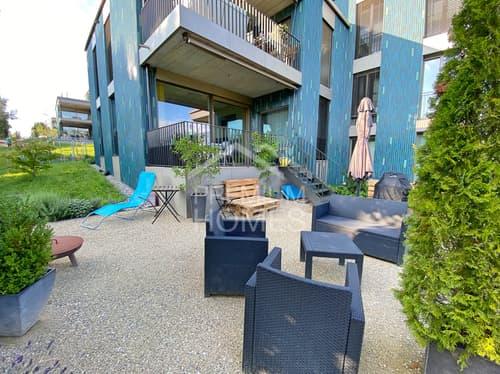 Exklusive 4.5-Zimmer Parterrewohnung mit grossem Garten