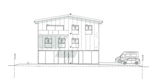 Neubau Gewerbeliegenschaft mit Wohnung!