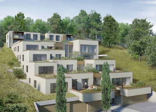 Terrassenwohnung Neubau an aussergewöhnliche Lage
