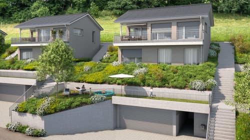 4.5-Zimmer Einfamilienhaus mit fantastischem Ausblick