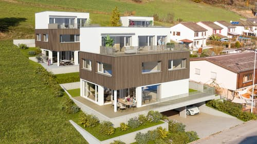 Hier wohnt das Glück - top-modernes Einfamilienhaus in Uerkheim