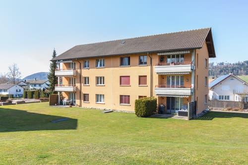Gemütliche Wohnung mit grossem Balkon