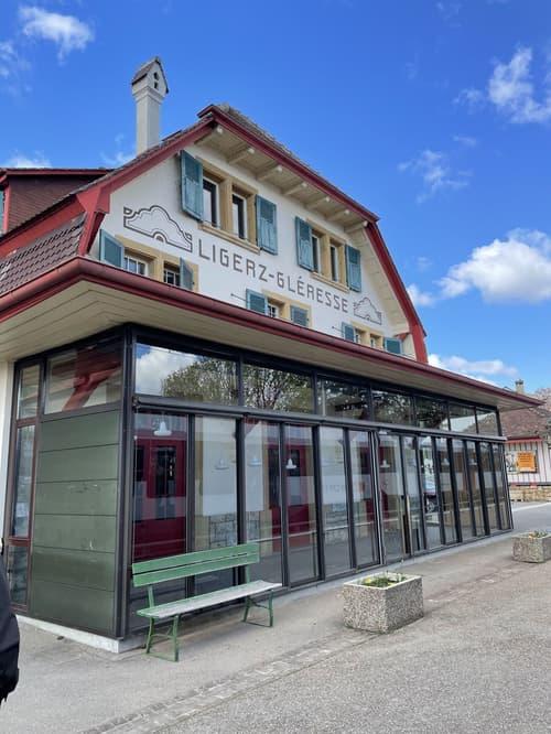 Gewerbefläche à 100m2 im Bahnhof Ligerz zu vermieten