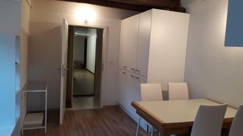Appartement meublé 2.5 pces au 7ème étage