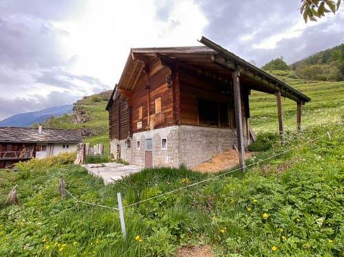 Domaine agricole - 21'000 m2 - commune d'Evolène