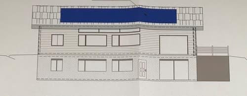 Terrain - 1'264 m2 - Chandonne (Liddes) - Projet d'une villa en cours