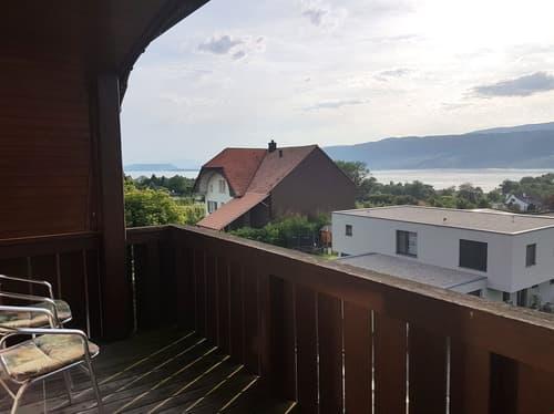 Heimelige 3.5-Zimmerwohnung mit einzigartiger Seesicht