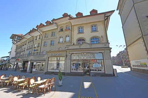 Aussenansicht Seite Waissenhausplatz