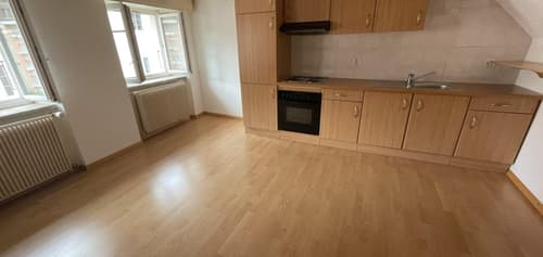 Appartement de 1,5 pièces au 3ème étage à Porrentruy