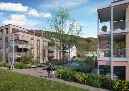 Familien mit grünem Daumen willkommen! 5.5-Zimmerwohnung mit grossem Privatgarten!