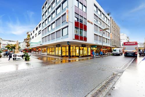 Arbeiten mit Blick in die Bieler Innenstadt!