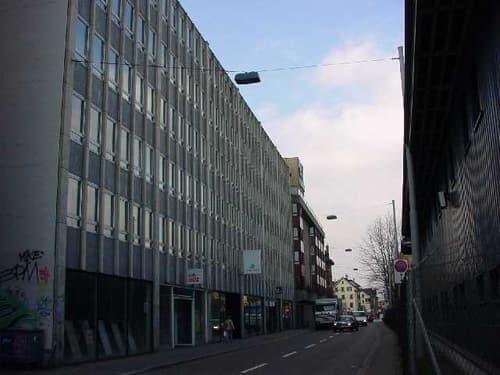 Abstellplatz mitten im Kreis 4, nahe Zürich HB