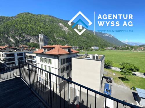 """AGENTUR WYSS AG: 3.5 Zi. Eigentumswohnung in der """"Résidence National"""" TOP-Lage"""