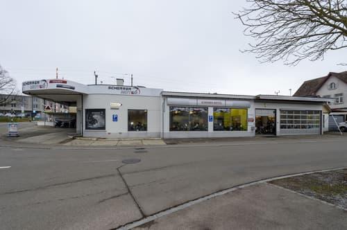 Betriebsgebäude, Werkstatt, Büro- und Ausstellungsräume