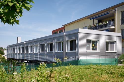 Bâtiment - 6 chambres (de 22 m²)