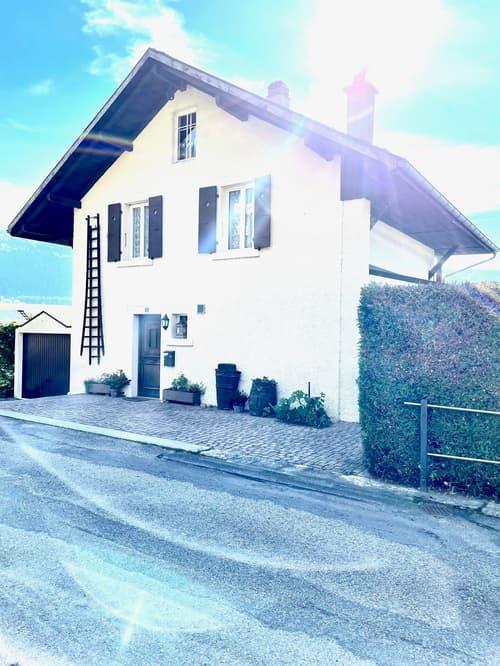 Magnifique maison individuelle avec jardin et vue sur le Val-de-Ruz