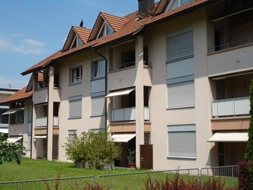 Ruhig gelegene Wohnung mit Sitzplatz Nähe Autobahnanschluss Frauenfeld-Ost