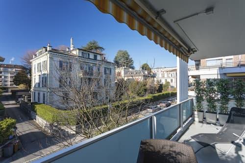 En exclusivité ! Lausanne- Florimont - appartement exceptionnel