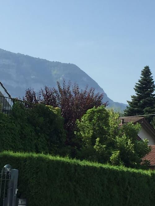 Genève belle maison neuve Minergie de 8 pièces, dotée d'un appartement indépendant
