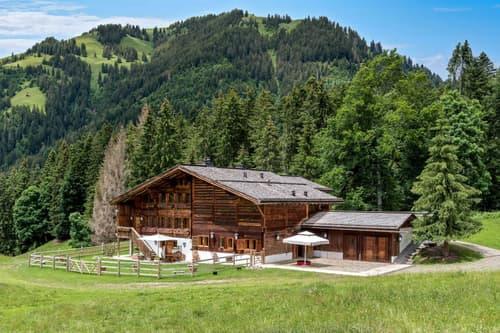Domaine d'exception sur les toits de l'Oberland Bernois