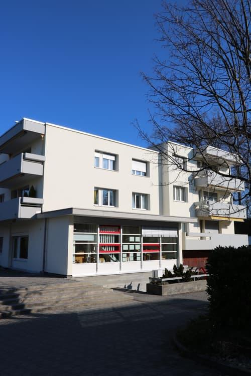 Helle 4.5-Zimmerwohnung in Meggen mit Aussicht auf See und Berge
