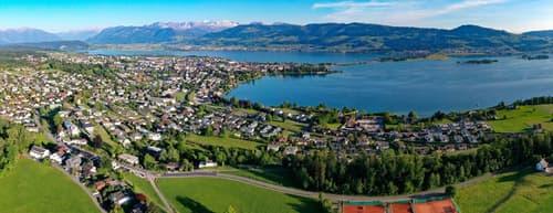 Grundstück für 4 Einfamilienhäuser mit Seesicht, Investor gesucht