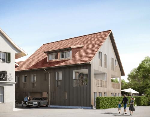 Neubau: 5 1/2 Doppeleinfamilienhaus für höchste Qualitätsansprüche an sehr guter Lage im Zentrum