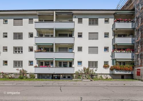 Gemütlich und zentral - 3.5-Zimmer-Wohnung mit vielen Vorteilen