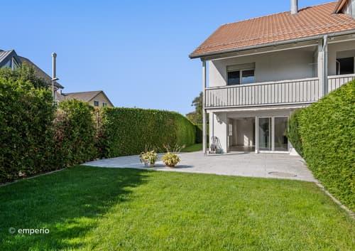 Sonniges Familienhaus mit schönem, ruhigem Garten