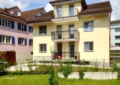 Renditeobjekt: stilvolles Mehrfamilienhaus im Zentrum von Uster