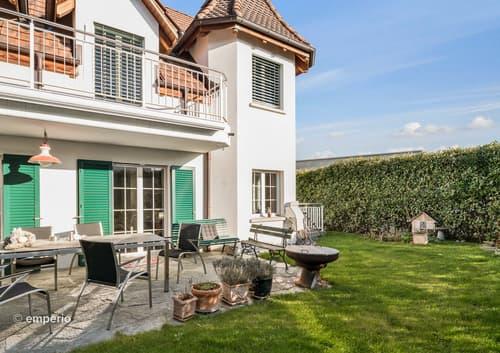 Aussergwöhnliches Wohnen mit Stil und privater Gartenoase