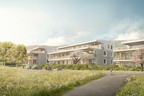 Wohnüberbauung, Breite, Thalheim