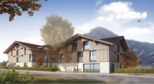 Neubau - 3.5 & 5.5 Zimmerwohnung im Zentrum von Wilderswil (1)