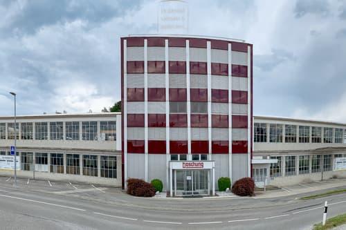 Open Space in schicken ehemaligen Industriehallen