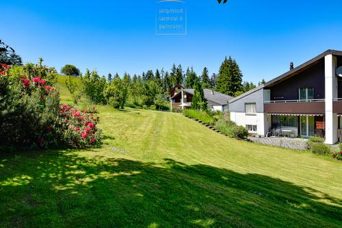 Angebautes Einfamilienhaus im Naturpark Gantrisch