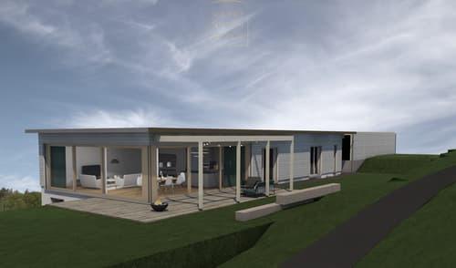 5.5-Zimmer Neubauprojekt im Bungalowstil in der Nähe von Bern
