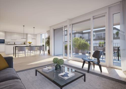 Moderne Wohnung mit grossem Balkon 20 m2