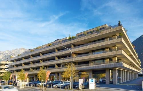 Parkplätze in Tiefgarage Wohnüberbauung Rheinfels III