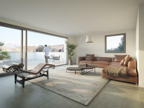 Nuovi appartamenti 2.5 locali con giardino a Cassina d'Agno